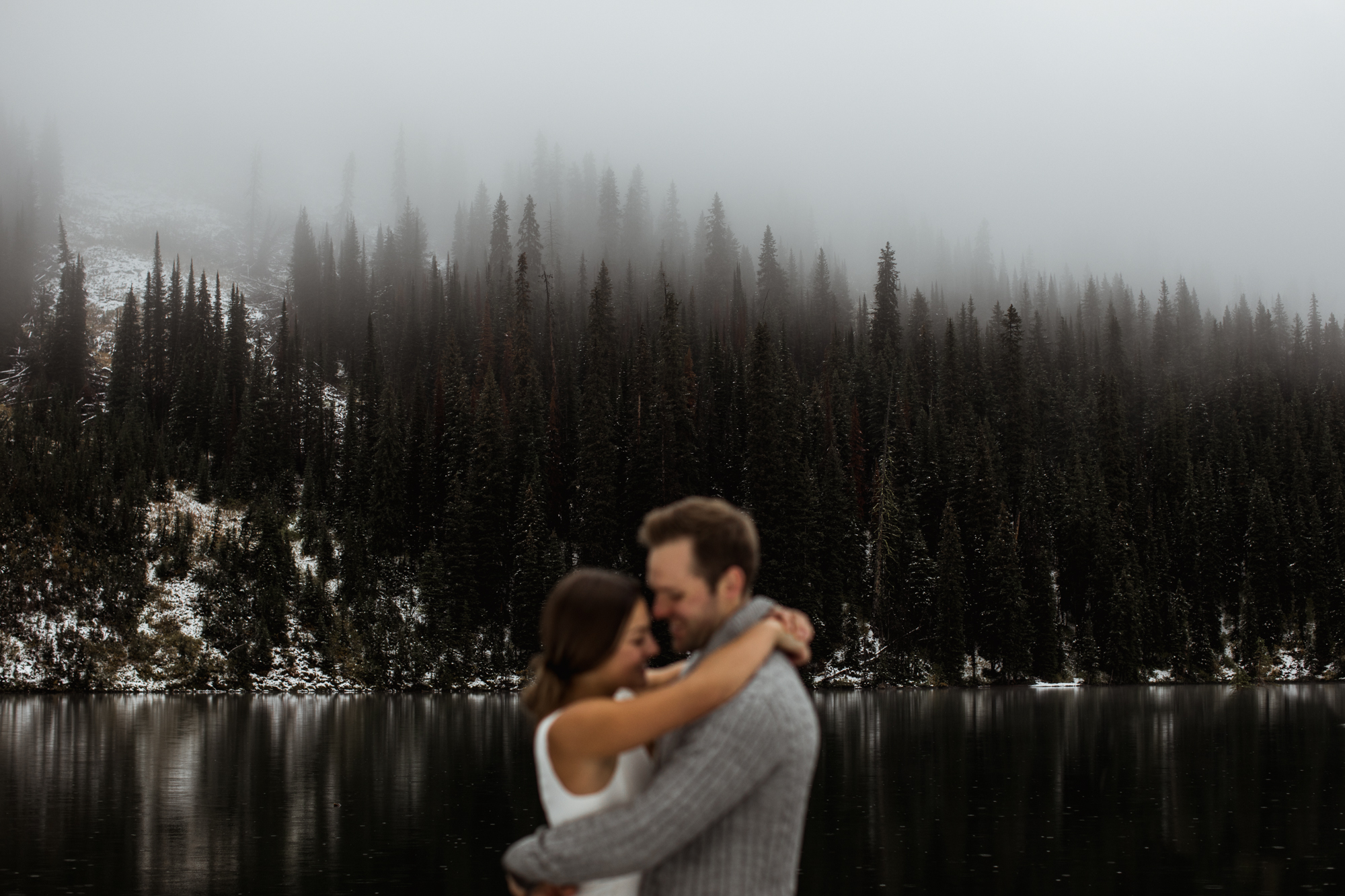 Rocky Mountain Engagement Adventure - Willow and Wolf Photography