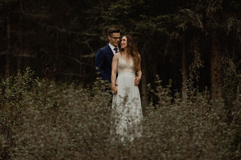 Kananaskis hiking elopement
