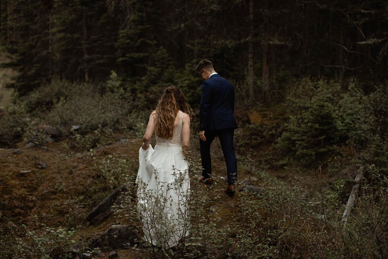 Kananaskis forest elopement