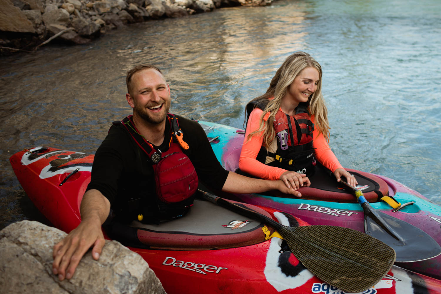 Kayak Engagement Photography
