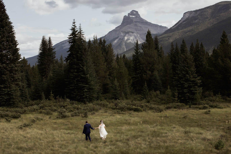 Banff Post Wedding Adventure Session