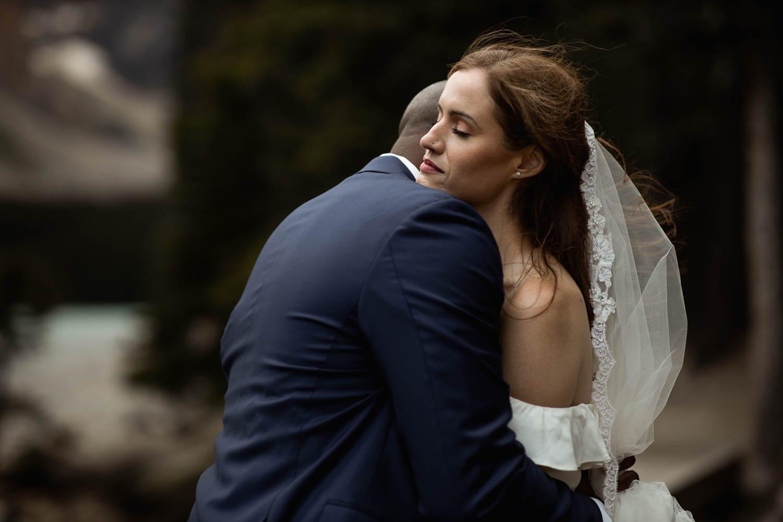 Bride Embrace Photo