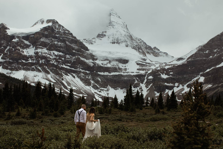 Mt Assiniboine Heli Wedding