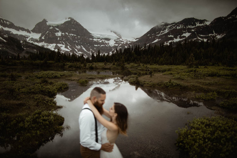 Wedding Portraits Mt Assiboine
