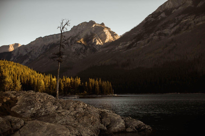 Lake Minnewanka at Sunrise