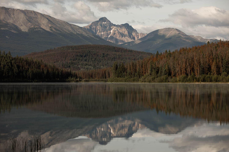 Pyramid Island Jasper National Park