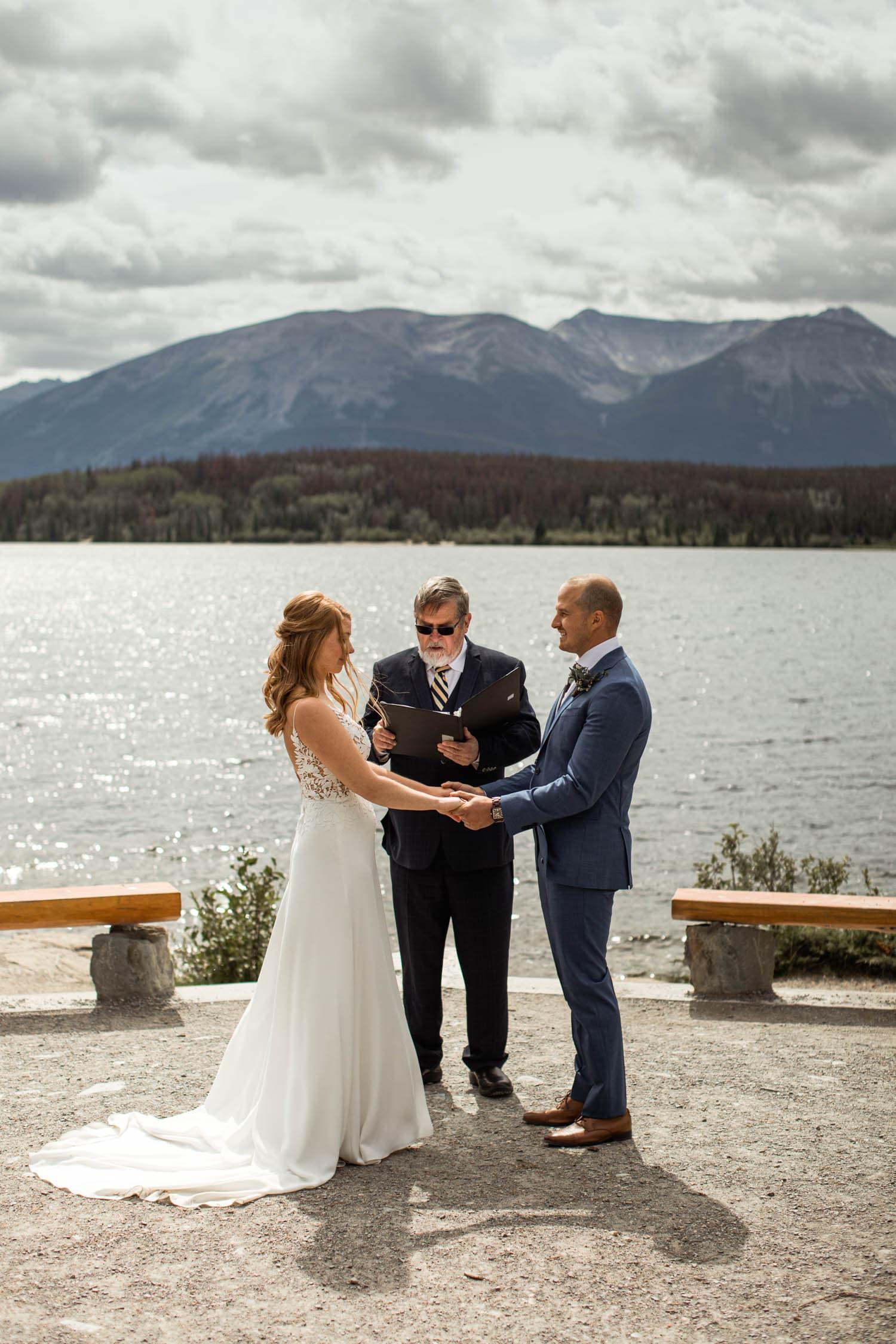 Pyramid Island Wedding Jasper