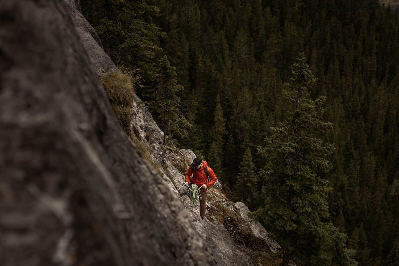 Groom climbing