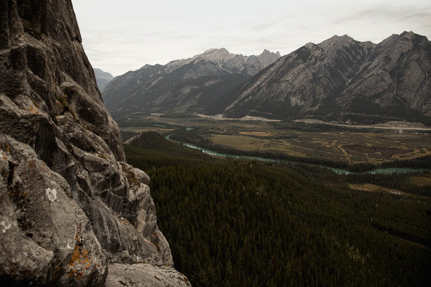 View from climb