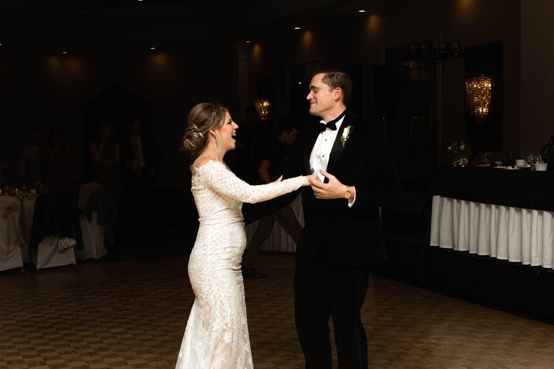Edmonton Wedding first dance