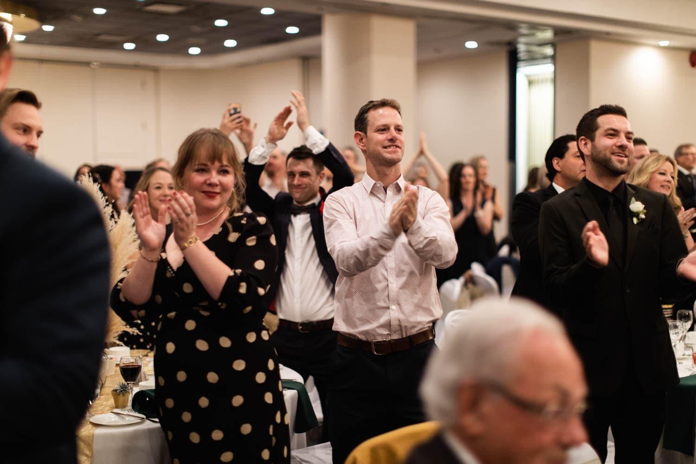 Edmonton Fantasyland Hotel Wedding Reception