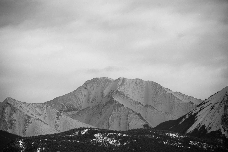 Abraham Lake Mountains
