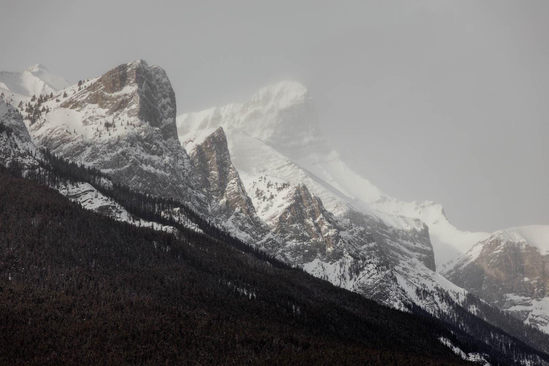 Canmore Mountain Range