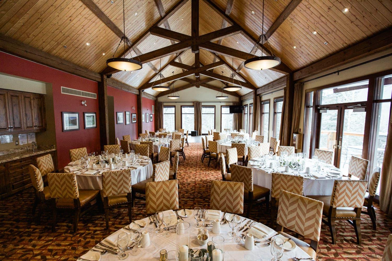 Stewart Creek Golf Club Wedding Reception